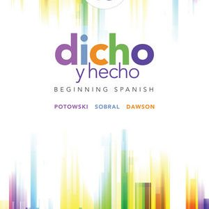 Test Bank for Dicho y hecho: Beginning Spanish 10th Edition Potowski