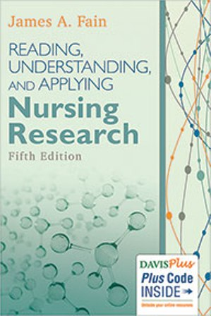 Test Bank for Reading, Understanding, and Applying Nursing Research 5th Edition Fain
