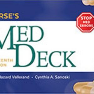 Test Bank for Nurse's Med Deck 16th Edition Vallerand