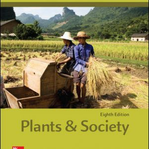 Test Bank for Plants and Society 8th Edition Levetin