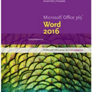 Solution Manual for New Perspectives Microsoft Office 365 & Word 2016: Comprehensive 1st Edition Shaffer