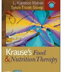 Test Bank for Krause's Food & Nutrition Therapy 12th Edition Mahan