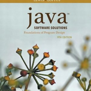 Test Bank for Java Software Solutions 9th Edition Lewis