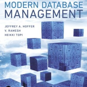 Solution Manual for Modern Database Management 13th Edition Hoffer