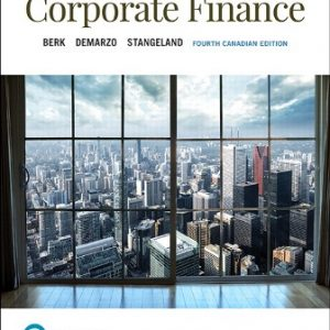 Solution Manual for Corporate Finance 4th Canadian Edition Berk