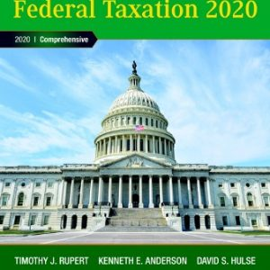 Test Bank for Pearson's Federal Taxation 2020 Comprehensive 33rd Edition Rupert