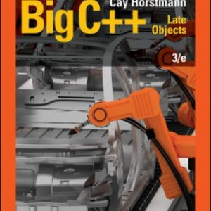 Solution Manual for Big C++: Late Objects 3rd Edition Horstmann