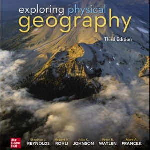 Test Bank for Exploring Physical Geography 3rd Edition Reynolds