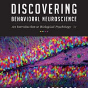 Test Bank for Discovering Behavioral Neuroscience 3rd Edition Freberg