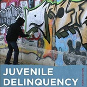 Test Bank for Juvenile Delinquency 10th Edition Thompson