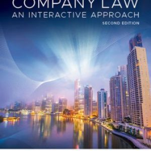 Solution Manual for Company Law: An Interactive Approach 2nd Edition Chapple