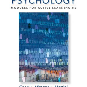 Solution Manual for Psychology: Modules for Active Learning 14th Edition Coon