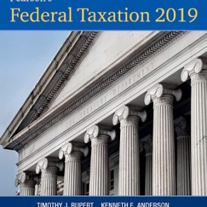 Solution Manual for Pearson's Federal Taxation 2019 Individuals 32nd Edition Pope