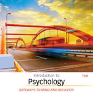 Test Bank for Introduction to Psychology: Gateways to Mind and Behavior 14th Edition Coon