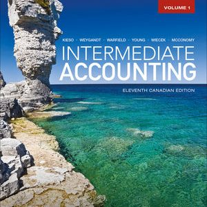 Solution Manual for Intermediate Accounting, Volume 1 11th Canadian Edition Kieso