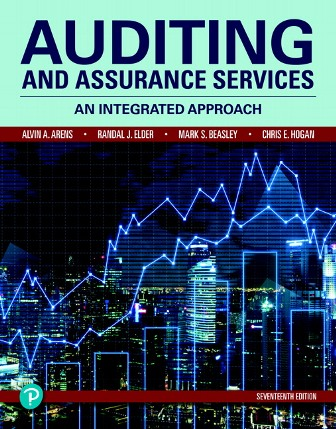 Test Bank for Auditing and Assurance Services 17th Edition Arens