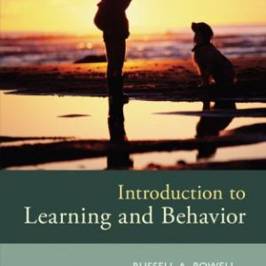 Test Bank for Introduction to Learning and Behavior 5th Edition Powell