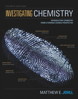 Test Bank for Investigating Chemistry Introductory Chemistry From A Forensic Science Perspective 4th Edition Johll