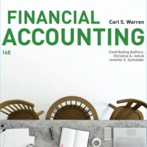 Test Bank for Financial Accounting 16th Edition Warren