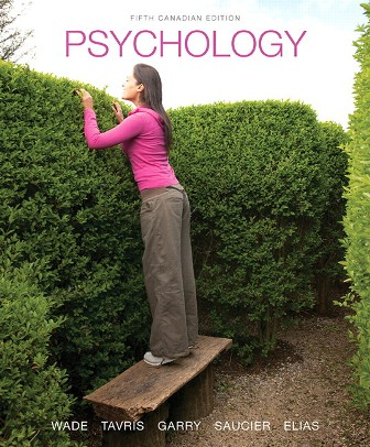 Test Bank for Psychology 5th Canadian Edition Wade