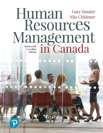 Test Bank for Human Resources Management in Canada 14th Canadian Edition Dessler