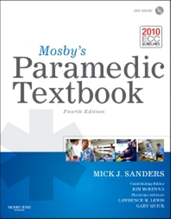 Test Bank for Mosby's Paramedic Textbook 4th Edition Sanders