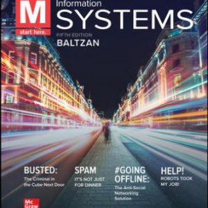 Solution Manual for M: Information Systems 6th Edition Baltzan