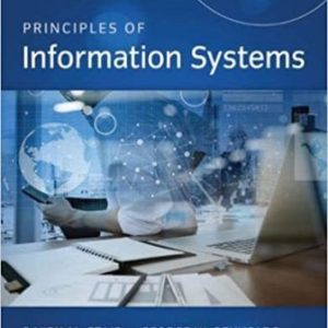 Test Bank for Principles of Information Systems 13th Edition Stair