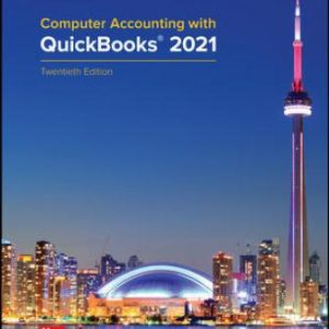 Test Bank for Computer Accounting with QuickBooks® 2021 20th Edition Kay