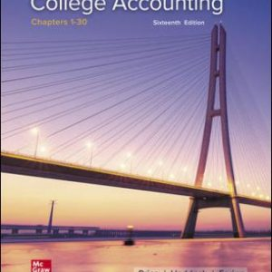 Test Bank for College Accounting Chapters 1-30 16th Edition Price