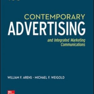 Solution Manual for Contemporary Advertising 16th Edition Arens