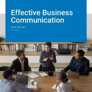 Solution Manual for Effective Business Communication Version 3.0 McLean
