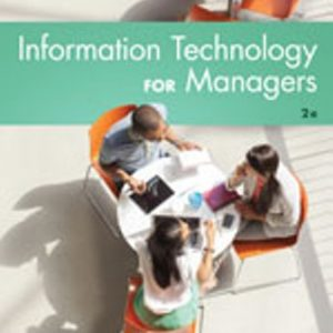 Solution Manual for Information Technology for Managers 2nd Edition Reynolds